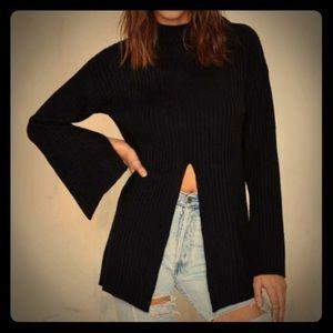 Nasty Gal Sweaters - NWT Nasty Gal slit sweater