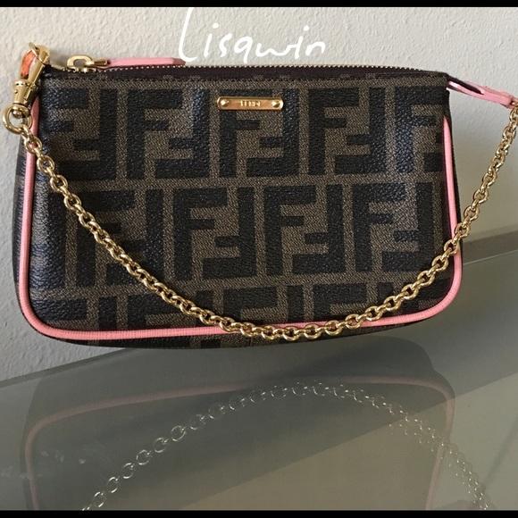 59d7546c165e Fendi Handbags - 💯% Authentic Fendi Wristlet 🌴🌿🍁