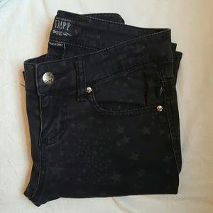 Tripp nyc Denim - Tripp NYC Star Print Skinny Jeans