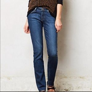 AG Skinny Straight Jeans