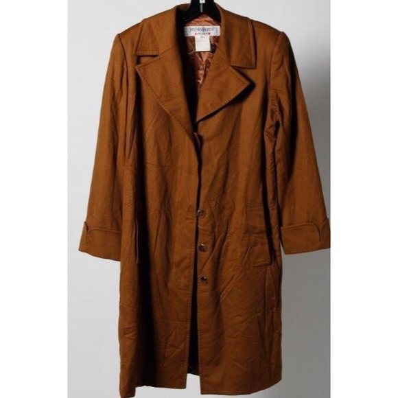 6968761d271 Yves Saint Laurent Jackets & Coats | Classic Ysl Chesterfield Brown ...