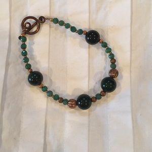 Jewelry - Green Beaded Bracelet