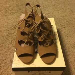 Restricted Shoes - NIB Restricted heels in Camel 8.5