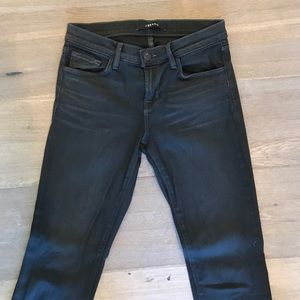 NEW JBRAND dark gray skinny leg jeans  size 26