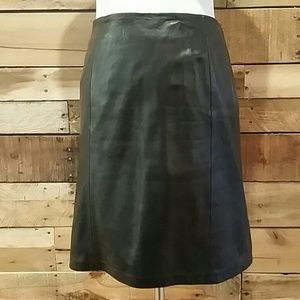 Alfani Dresses & Skirts - Alfani black leather skirt
