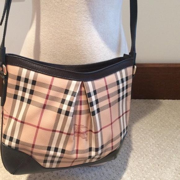 18eed017e95 Burberry Bags | Authentic Haymarket Handbag | Poshmark