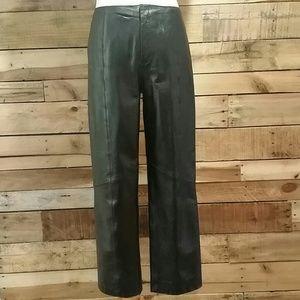 Nine West Pants - Nine West black leather pants