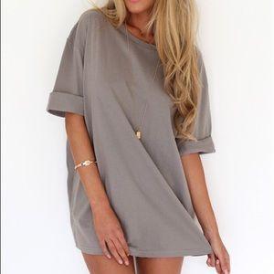 Sabo Skirt Mocha Tee Dress
