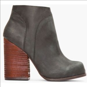 Jeffrey Campbell Shoes - Jeffrey Campbell Hanger Leather Booties