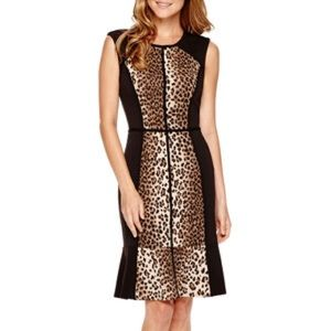 SALE❗️Nicole By Nicole Miller Animal Print Dress