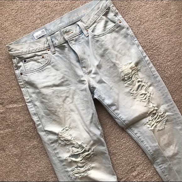 GAP Jeans - Ripped / Destroyed Boyfriend Jeans