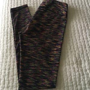 Zella Pants - Zell space dye work out leggings