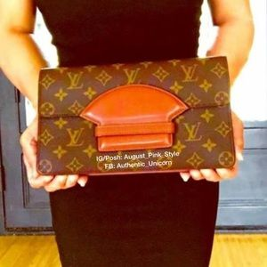 LOUIS VUITTON VINTAGE CHAILLOT MONOGRAM CLUTCH