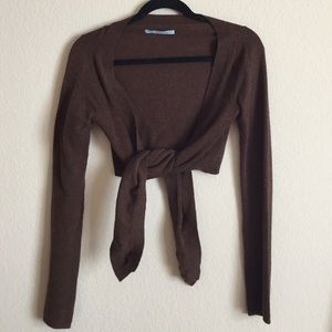 Sweaters - Lily McNeal cashmere wrap sweater