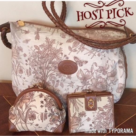 c1e4bbcafa6519 Gucci Bags | Authentic Vintage Floral Shoulder Bag | Poshmark