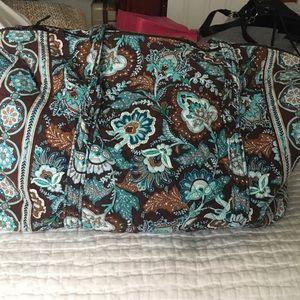 Vera Bradley Handbags - vera Bradley paisley duffle bag