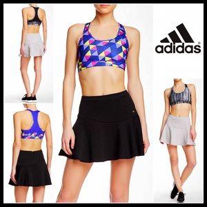 ADIDAS BLACK SPORT SKIRT Athletic Studio Gym Mini
