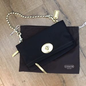 Coach clutch/small shoulder bag