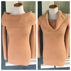 Ann Taylor Sweaters - ANN TAYLOR Cowl Wool Sweater Top