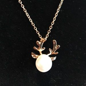 Jewelry - Deer Necklace NWT