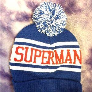 Accessories - Superman winter hat ❄ NWT cf78c2d7295