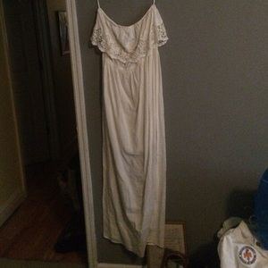 NWOT white/cream dress