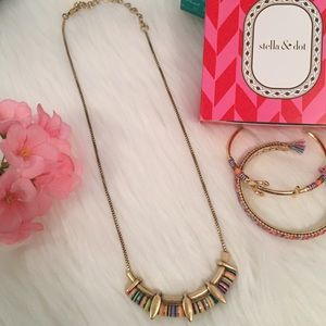 Gold Wanderer Necklace - Stella & Dot
