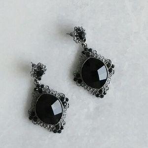 Nordstrom Jewelry - NWOT Nordstrom Natasha Black Earings