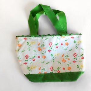 Avon Other - Flowered Makeup Bag