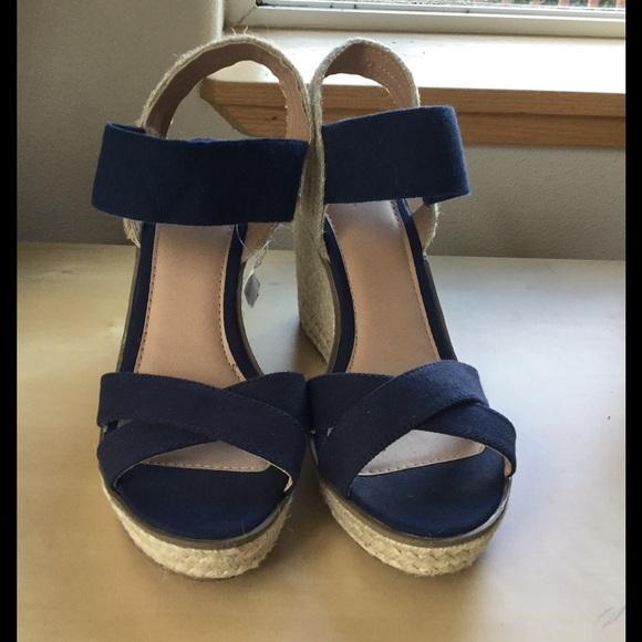 Merona Shoes | Merona Navy Blue Canvas