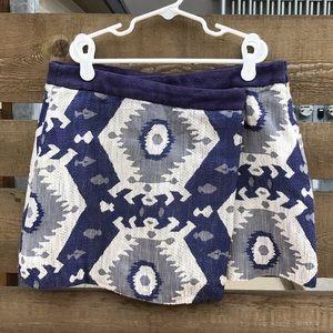 Zara Jacquard mini Skirt size S