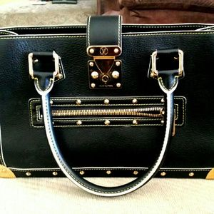 "Louis Vuitton Suhali Le Fabuleux"" Leather Satchel"