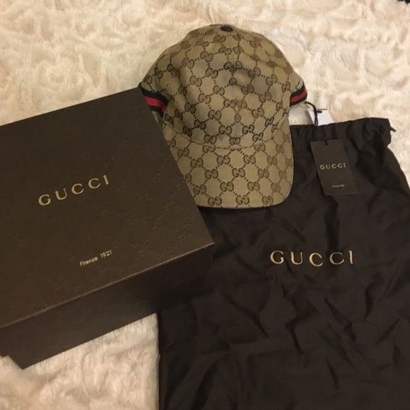 Gucci Accessories - New Gucci Hat tags box dust bag receipt 74ab9072fd9