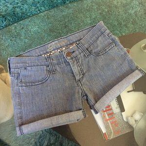 Frankie B. Pants - Frankie B cutoff shorts