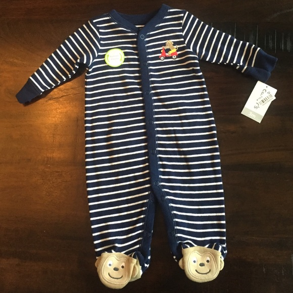 45c4eae20 Carter's One Pieces | Brand New Carters Monkey Butt Sleep Play ...