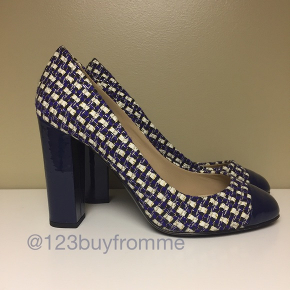 56f22b815c10b J. Crew Shoes | Jcrewjcrew Etta Cap Toe Heelspumps 8 | Poshmark