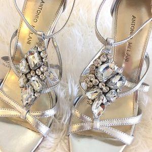 ANTONIO MELANI Shoes - ANTONIO MELANI rhinestone heels
