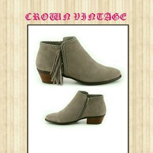 CROWN VINTAGE TAUPE TAMMY BOOTIE