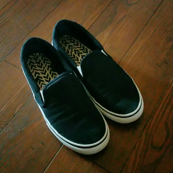 99484913c7e290 Faded Glory Shoes - Vans style slip ons