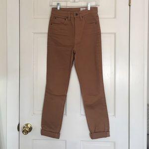 Wood Wood Denim - Wood Demin straight leg jeans. Carhart color