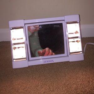 New Jerdon lighted makeup mirror