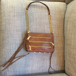 Rebecca Minkoff Handbags - Rebecca Minkoff Five Zip Mini Cross-body Bag