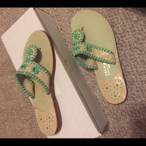 Palm beach sandals!! Size 7