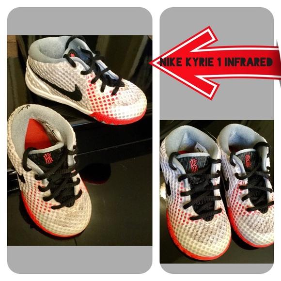 hot sales b6696 dda00 NIKE Kyrie 1 Infrared Toddler Sneaker. M 583f44efb4188e8a5f08f2c6