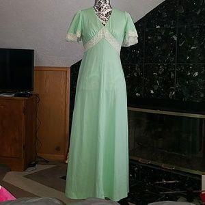 Beautiful vintage 70's dress!!