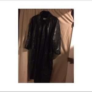 Jackets & Blazers - Vintage Lanna full length leather coat