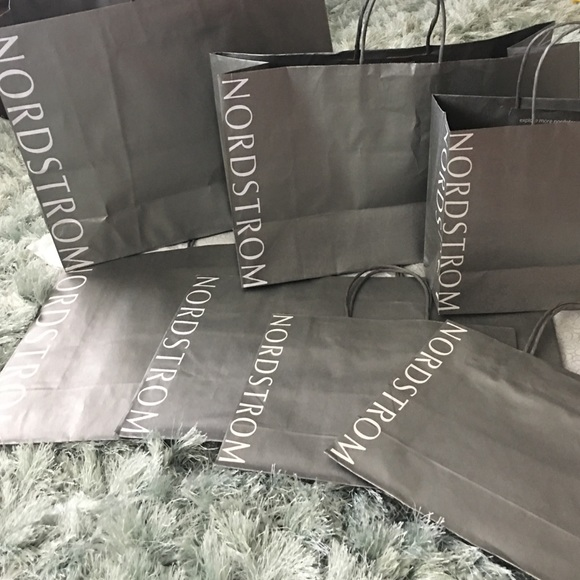 7 NORDSTROM Shopping Bags