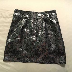 silence + noise Dresses & Skirts - Silence + Noise Metallic Brocade Skirt