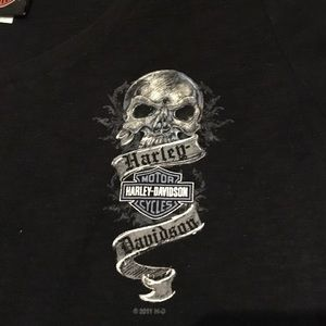 Harley Davidson women's tee large