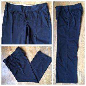 Dockers Pants - DOCKERS Black Mid-rise Curvy Dress Pants